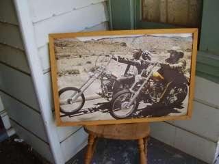 ORIGINAL EASY RIDER MOTORCYCLE MOVIE POSTER