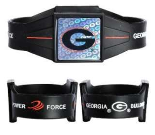 Georgia Bulldogs Power Force Balance Band Bracelet Silicone Wristband