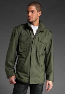 ALPHA INDUSTRIES M 65 Field Coat in Olive