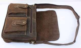 Genuine Cowhide Leather Case Shoulder Bag Satchel Tote iPad 2  K12