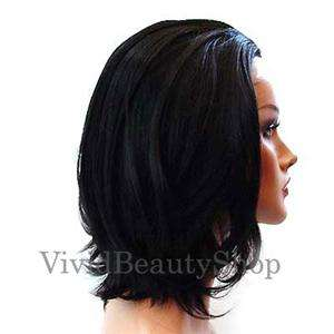 15 SYNTHETIC LACE FRONT STRAIGHT FULL WIG HAIR BLACK