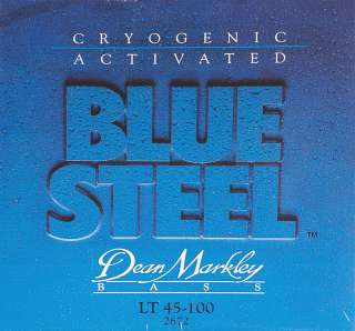 Dean Markley 2672 Blue Steel Light Bass