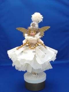 Original Susan Arnot Batting Christmas angel doll