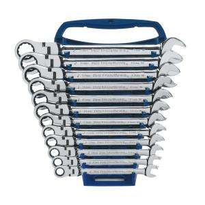 GearWrench 12  Piece Metric Flex Head Ratcheting Wrench Set EHT9901 at