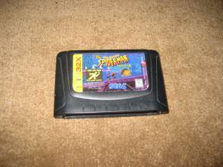 Spiderman Spider Man 32x Web of Fire Sega Game Nice