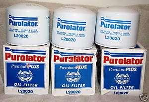 Ford Tractor Purolator Oil Filters NIB L20020