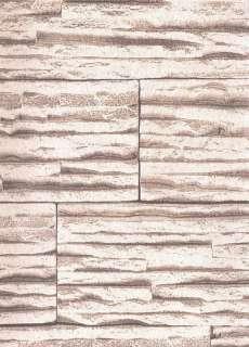 Steintapete Mauer Tapete Stein Vliestapete F20 3,37€/m²