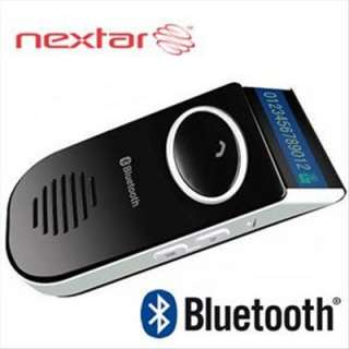 SOLAR POWER BLUETOOTH CAR KIT SPEAKER WITH NAME DISPLAY Cellular Hands