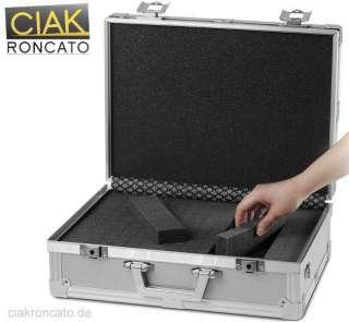 CIAK RONCATO (XL) Fotoapparat Koffer Aluminium Fotokoffer Foto Geräte