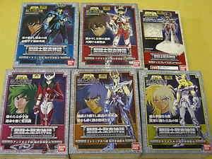 Bandai Japan Saint Seiya Cloth Myth Final V3 Bronze 5 Set & Display