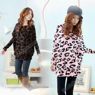 Fashion Womens Batwing Sleeve Tops Shirts Lips Pattern Print Blouse