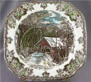 Johnson Brothers Friendly Village Square Salad Plate