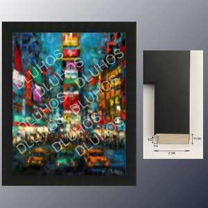 CUSTOM ART WOOD FRAME contemporary high end quality 671