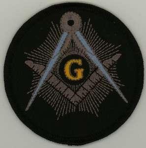Freemason Free Mason Masonic Masonry Patch Master NEW