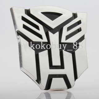 H5547 New Cool Transformers 3D Decal Car Sticker Autobot Emblem Badge