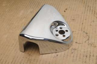 Davidson FLHRC Road King Classic  Head Light Chrome Covers   Nacelle