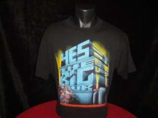 1987 87 Tour T Shirt 50 50% Poly Spring Ford XL Rock Band Black