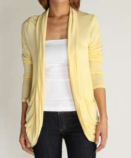 Long Sleeve Jersey OPEN CARDIGAN Light Weight Knit Sweater