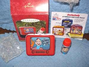 Howdy Doody Lunchbox And Thermos Hallmark Ornament,MIB