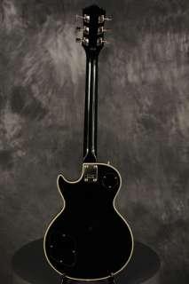 1977 IBANEZ Les Paul Custom BLACK Super 70s pickups