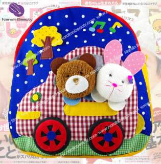 Girl Kids Toddler Child Cute Backpack Preschool Bag Toy