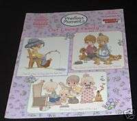 OUR LOVING FAMILY! PRECIOUS MOMENTS CROSS STITCH BOOK!