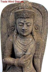 5ft STONE KWAN YIN STATUE QUAN YIN GUAN YIN GODDESS GARDEN BUDDHA