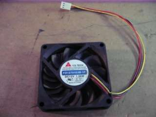 Tech FD1270153B 1F 12V 1.56W DC Brushless Fan
