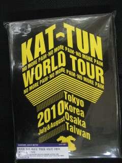 Kat Tun / No More Pain World Tour 2010 3 DVD NEW LTD