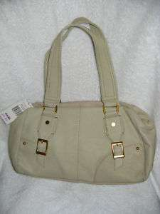 Womens New Tommy Hilfiger Oak Leaves Leather Purse Handbag