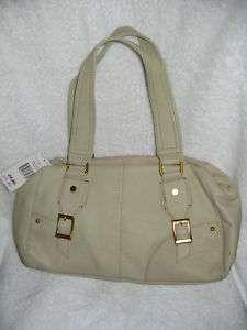 Womens New Tommy Hilfiger Oak Leaves Leather Purse Handbag |