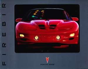 2002 Pontiac Firebird TransAm Last Sales Brochure Book