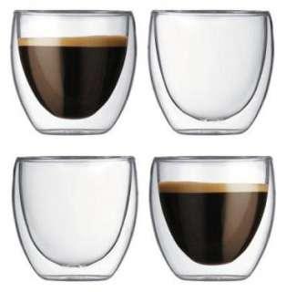 Bodum Pavina Double Wall Espresso Shot Glass 2.5 oz