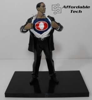 President Barack Obama as Superman Hero Action Figure
