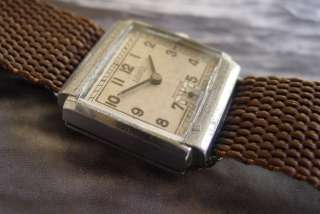 PONTIAC VINTAGE MENS WRIST WATCH 1940