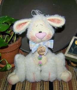 Primitive Spring Easter Critter Lamb Sheep Pattern 119