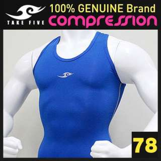Mens Compression skin sleeveless sports Tank Top shirt