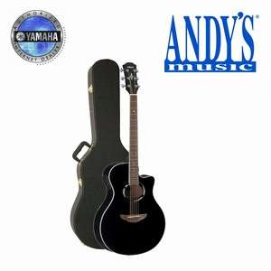Yamaha APX500II Acoustic Electric Guitar Black w/ Case