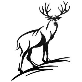 Decal Stickers Deer car window Hunter Hunting W7329
