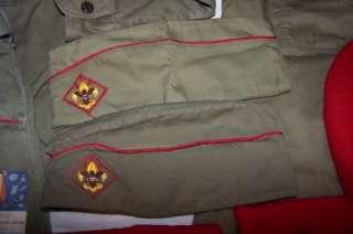 Vintage Eagle Boy Scouts/Cub Scouts Knife Handbook Belt