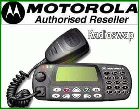 MOTOROLA GM380 25 WATT VHF HI BAND TAXI RADIO & ANTENNA