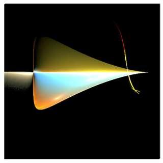 Modern Contemporary Art Fleche by Dr.Roy Schneemann