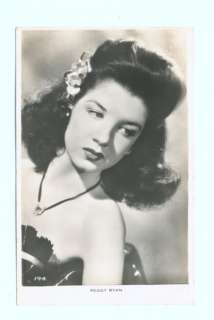 k2289   film actress Peggy Ryan   postcard