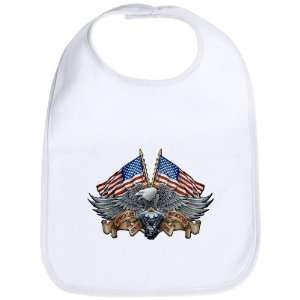 Cloud White Eagle American Flag and Motorcycle Engine Everything Else