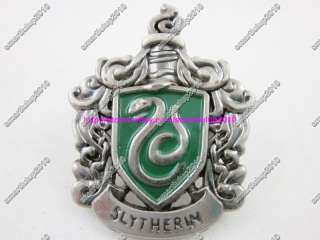Harry Potter Slytherin Snake BROOCH Pin Badge COSPLAY 1