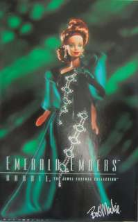 BARBIE POUPEE COLLECTION Bob Mackie EMERALD EMBERS Label NRFB