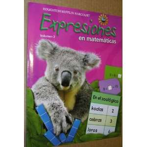 Expression, Grade 1 Student Activity Book: Houghton Mifflin Harcourt
