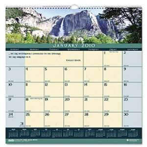 House of Doolittle 3621 Landscapes Monthly Wall Calendar
