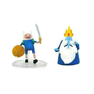 Adventure Time 2 inch Action Figures   Finn & Ice King   FAO Schwarz®