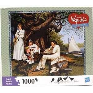Hasbro Wysocki Americana 1000 Piece Puzzle   Robin Hood Toys & Games